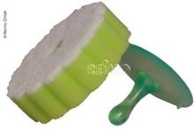Svamp med sugekoppholder