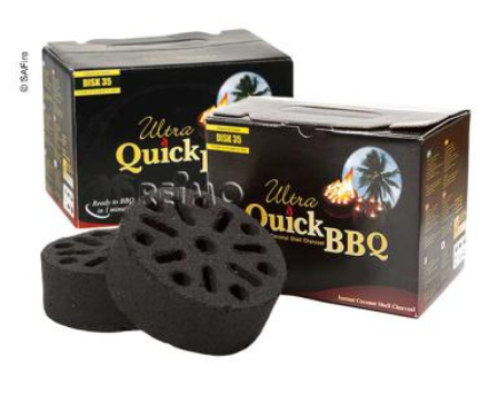 SAFIRE BBQ BRIKETTER 5STK.