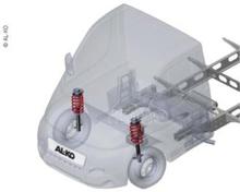 AL-KO Comfort suspension 35 L kassebil Ducato fra 2014