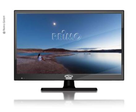 """12V TV LED TV 21,5"""""""" DVD, VIDVINKEL LED-TV"""