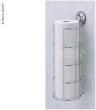 Everloc toalettpapirbeholder med sugekopp