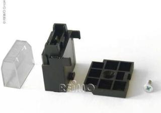 Flatsikringsholder 6,3x0,8 mm for kabelkobling