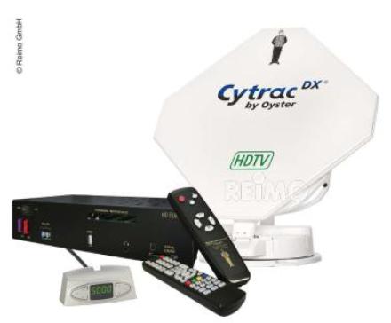 SATELLITTANTENNE CYTRAC DX HDTV INKL.RECEIVER EUROPE