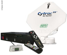 Satellittflatantenne Cytrac® DX HDTV Twin inkl. receive r Europe