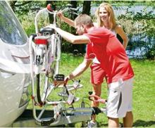 Fiamma rammestativ XL A Pro 200 E-Bike maks 50 kg, for 2 el-sykler