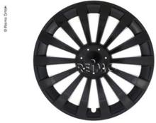 """Hjulkapsler Meridian for VW T5 16"""", 1 sett 4 stk, svart"""