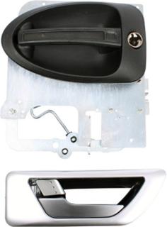 Komplett dørlås uten låsesylinder, Dethleffs 2007-