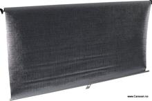Rullegardin alu/sand, 1320x800 mm