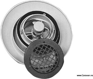 Takventil med ventilator, 12V