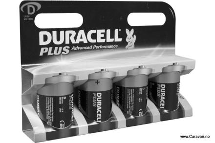 DURACELL BATTERI 1,5 V, LR20 MN 1300 D