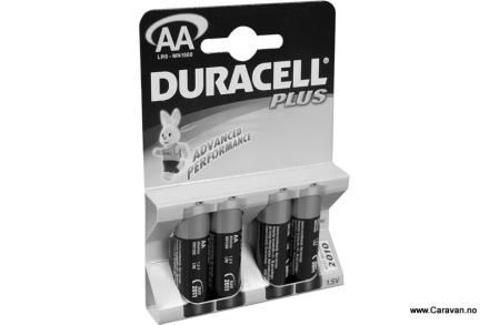 DURACELL BATTERI 1,5 V, LR6 MN 1500 AA