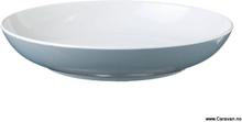 Blå spectrum dyp tallerken, grå