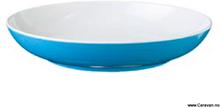 Blå spectrum dyp tallerken, aquablå