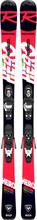Rossignol Hero JR KX/Kid 4 GW Slalomskidor Svart 110