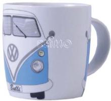 VW kaffekopp Bulli blå