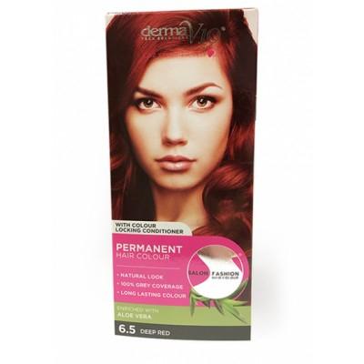 DermaV10 Salon Fashion Hair Colour 6.5 Deep Red 1 kpl
