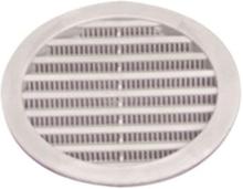 Ventilasjonsgitter, hvit
