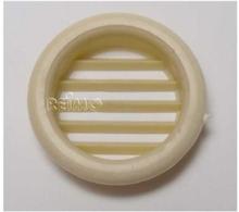 Møbel-ventilasjonsgitter 32 mm rund krem