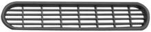 Froli ventilasjonsgitter oval 205x40, sølv
