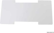 Vinterdeksel for Thetford-kjøleskap 23,5x48 cm hvit
