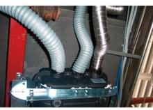 Teleco spesial PVC-varmluftrør