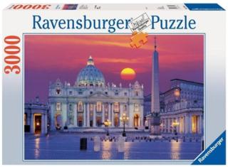 Ravensburger, St.Peter's Katedral i Rom, 3000 Bitar Pussel