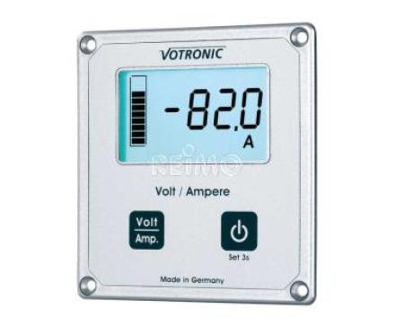 LCD VOLTMETER /AMPEREMETER MED SHUNT 100A