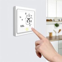 WiFi Smart Thermostat Temperature Controller for Water/Electric Floor Heating Water/Gas Boiler Work with Alexa Google Smart Home