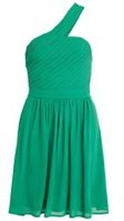 VILA Enaxlad Festklänning Kvinna Grön