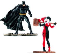 Lisensiert Batman VS Harley Quinn Figurer 10 cm