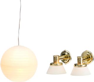 Lundby,Lundby Småland Rislampa och 2st Vägglampor