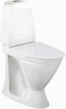 Ifö Toalettstol Sign 6872 Förhöjd Dubbelspolning Mjuksits