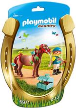Playmobil,Playmobil Country Ponnyhäst att pynta Fjäril 6971