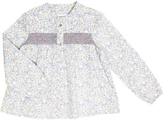 Mini A Ture,Mini A Ture Elfrida Blus White Spring Flower