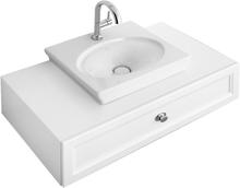 Villeroy & Boch Tvättställ La Belle Tvättställ Vit CeramicPlus 520 x 460 mm