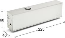 Habo Dörrstängare TS 73 Silver