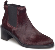 Town Chelsea Pony Shoes Boots Ankle Boots Ankle Boots With Heel Lilla Royal RepubliQ