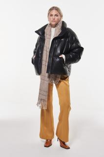 Kit pu puffer jacket