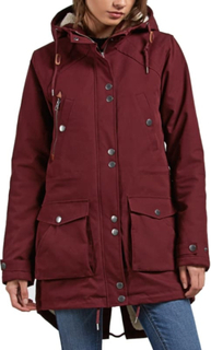Volcom Volcom Walk On By Parka Dame synthetic-lined parkas Lilla L