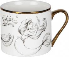 Arielle, die Meerjungfrau - Arielle -Kopp - hvit, gull