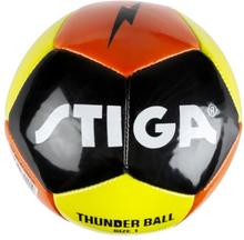 STIGA, Footboll, Thunder, Size 1, Green/Orange