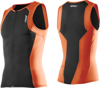 2XU Active Tri Singlet Herr - Triathlonlinne