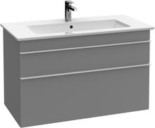 Villeroy & Boch Tvättställsskåp Venticello A925 Glossy Grey 753 x 590 x 502 mm