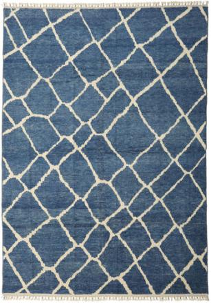 Handknotted Berber Shaggy matta 281x401 Modern Matta