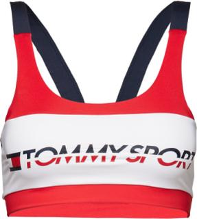 Sports Bra Low Impact Lingerie Bras & Tops Sports Bras - ALL Rød Tommy Sport