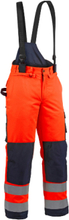 Blåkläder Hängselbyxa 18081979 Orange/Marinblå