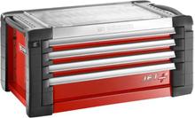 Facom JET.C4M4 Topp-låda röd 4 lådor, 4 moduler/låda