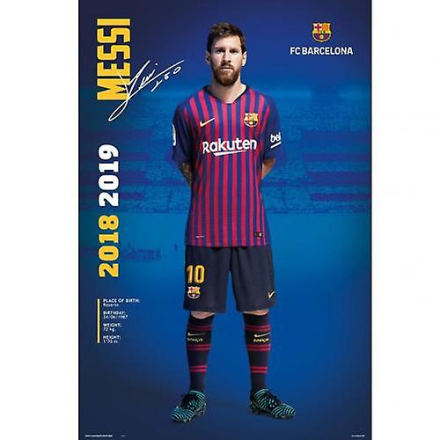 Barcelona plakat Messi 24