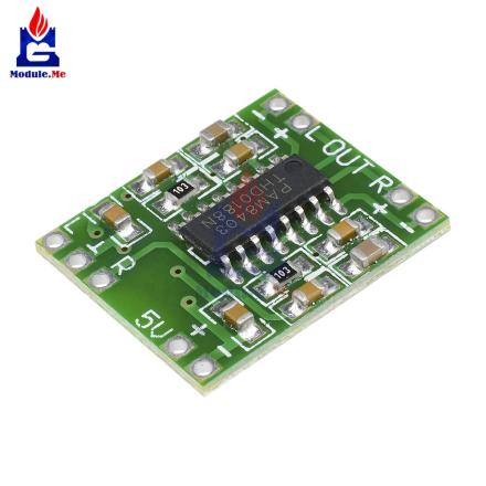 10Pcs 3W 3W Dual Channel Mini Digital Power Amplifier Drive Board PAM8403 For Arduino Class D Stereo Audio Amplifier Module 5V