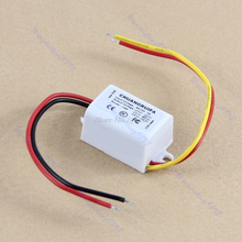 Waterproof DC 12V Converter Step Down to 5V 3A 15W Power Supply Module Dropship
